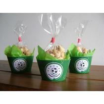 Cupcakes De Futbol Rellenos De Tutucas X 10 U.