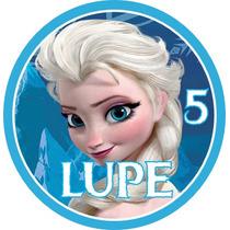 Etiquetas Candy Bar Personalizadas Frozen