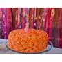Torta Cumpleaños Shabby Chic Vintage Rosas