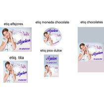Etiquetas Stickers Autoadhesivas Para Golosinas Cumpleaños