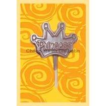 10 Chupetines De Chocolate Princesa Corona Ideal Souvenirs
