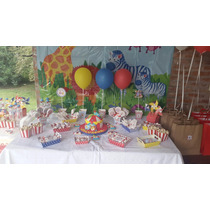 Candy Bar Circo! Cumpleaños Souvenirs