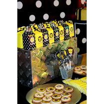 Candy Bar Transformers Bumble Bee - Golosinas, Cupcakes