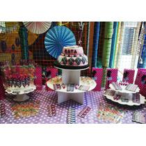 Candy Bar-golosinas-torta- Cupcakes-souvenirs-monsters High