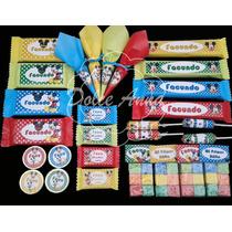 Golosinas Personalizadas / Candy Bar Mickey Mouse Excelente!