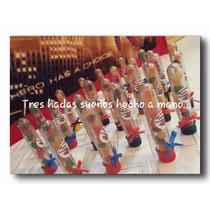 Tubos Souvenirs Con Golosinas...hombre Araña, Mickey