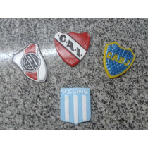 Escudo De Futbol Porcelana Fria