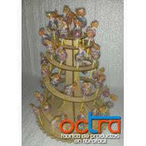 Candy Bar Porta Chupetines 10 Unidades