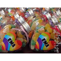 Corazones Golosineros Personalizados X 10 Un - Candy Bar