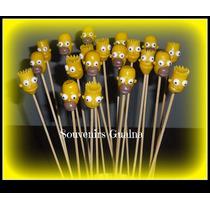 Souvenirs Brochettes Con Aplique Y Gomitas Promo X20