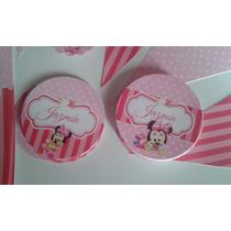 40 Stickers Personalizados 5 Cm P/ Cierra Bolsita Golosinas