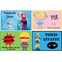 Etiquetas Personalizadas Para El Colegio/caratulas Candy Bar