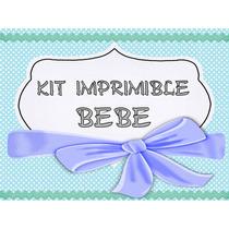 Kit Imprimible Baby Shower Kit Nena + Kit Nene=3x1