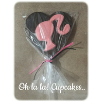 Chupetines De Chocolate Barbie.