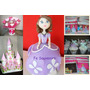 Cupcakes-torta-candy Bar-golosinas- Princesita Sofia