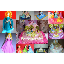 Cupcake-torta-candy Bar-golosinas-souvenirs Princesas Disney
