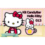 Imprimibles Personalizados Candy Bar - Hello Kitty - 013