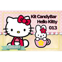 Imprimibles Personalizados Candy Bar - Hello Kitty - 013