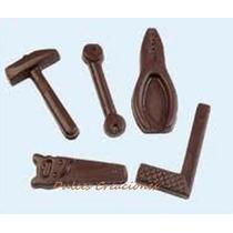 10 Herramientas Todo De Chocolate Souvenirs Varones Regalos
