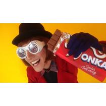 Chocolates Invitaciones / Souvenirs Wonka Grande 18x9cm