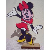 20 Souvenirs Minnie + Central + 20 Globos + Adorno De Torta