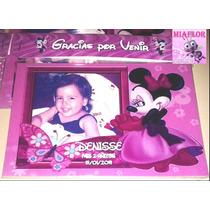 20 Imanes Personalizados Minnie Souvenirs 14x9cm