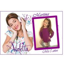 34 Imanes Personalizados De Violetta Tamaño 7x10cm