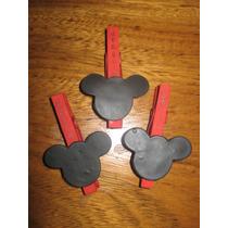 20 Broche - Souvenir Mickey Con Porcelana Fría Con Imán