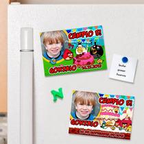 Angry Birds Souvenirs Cumpleaños + Cartel De Bienvenida Foto