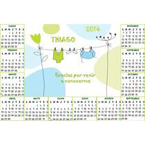 10 Calendarios Con Imán Personalizados