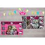 Monster High Tateti Imantados 15x10cm X10u Personalizados