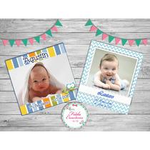 35 Souvenirs Foto Iman Personalizados- Cumpleaños - Bautismo