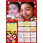 15 Calendarios Imantados 15x21 Cm