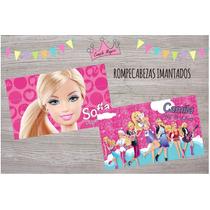 Barbie Rompecabezas Iman 15x10cm X10 Souvenir Personalizados