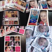 1 Foto Iman 10x10 Souvenir Personalizado Cumple Boda Quince
