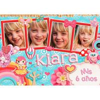 Souvenirs Originales Tarjetas Foto Iman Personalizado X20