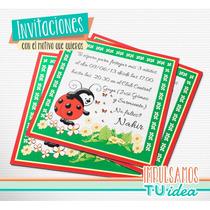 Vaquita De San Antonio - Tarjetita Para Imprimir