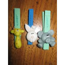 20 Broche-souvenir Animalitos Porcelana Fría Con Imán
