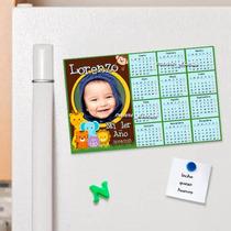 10 Calendarios Imantados Personalizados - 10x15 Cm Tus Fotos