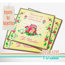 Frutillitas - Invitación Para Imprimir