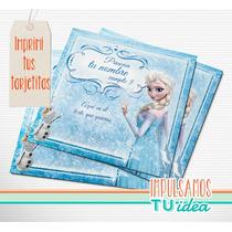 Frozen - Invitación Para Imprimir