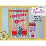 10 Libros Para Colorear Personalizados Cumples + Regalo