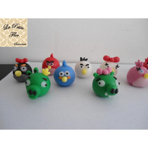 Angry Birds Lapices O Apliques!!! Porcelana Fria