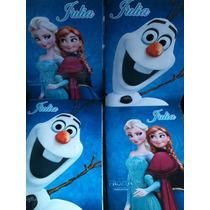 Libro Para Colorear Personalizado Souvenirs Frozen Elsa Anna