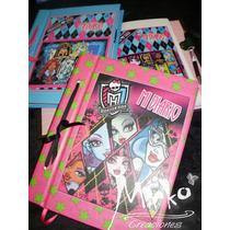 Diario Agenda Monster High Anotador C/ Lapicera!