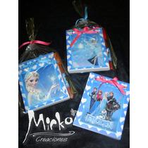 Frozen Anotadores Souvenir C/lapicera Pack X 10 Oferta
