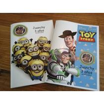 20 Libros Para Colorear Personalizados, Souvenirs Cumpleaños