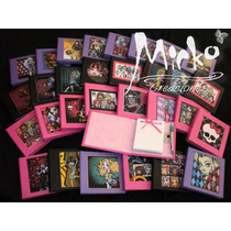 10 Anotadores Monster High Souvenirs Tapa Dura! C/ Lap.