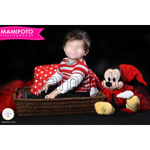 Book De Fotos Minnie Mini Mickey Mouse Primer Anito Del Bebe