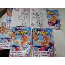 10 X $110 Libros Para Colorear Personalizados